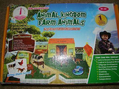 Educational Little Montessorian Animal Kingdom Farm Animals for sale  San Leandro