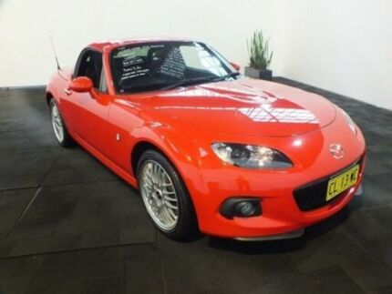 2013 Mazda MX-5 NC MY13 Coupe Sports Red 6 Speed Manual Roadster Clemton Park Canterbury Area Preview