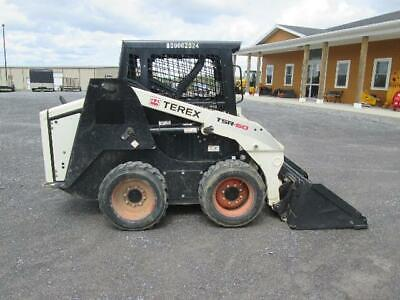 Terex Tsr-60 Skid Steer Used Perkins Turbo Diesel 3rd Valve Cat Asv Bobcat