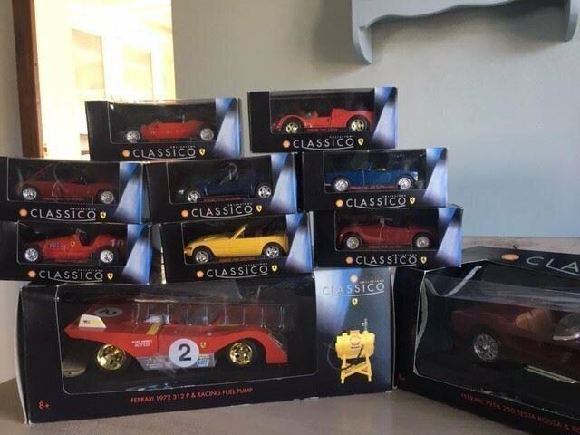 Shell Collezione Classico Complete Ferrari Model Car Collection | in  Blandford Forum, Dorset | Gumtree
