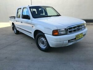 2000 Ford Courier PE GL Utility Crew Cab 4dr Man 5sp, 4x2 1165kg 2.6i White Manual Utility Villawood Bankstown Area Preview