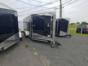 2020 TRAILER 19 FEET FOR 2 SNOWMOBILE ( 2 RAMPS DOOR INCLUDED )