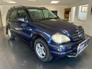 2001 Mercedes-Benz ML320 W163 Luxury (4x4) Blue 5 Speed Auto Tipshift Wagon North Toowoomba Toowoomba City Preview