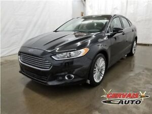 Ford Fusion SE AWD GPS Cuir Toit Ouvrant MAGS Bluetooth 2014