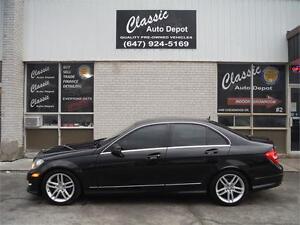 2013 Mercedes-Benz C-Class C300 4MATIC**CERTIFIED**NAV**