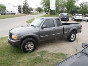 2007 FORD RANGER SPORT 4X4,SAFETY AND WARRANTY $7,450