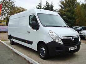 2011 VAUXHALL MOVANO 2.3 CDTI H2 LWB High roof Van 125ps Euro 4