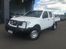 2012 Nissan Navara D40 MY11 RX (4x4) Arctic White 6 Speed Manual Dual Cab Pick-up Beckenham Gosnells Area Preview