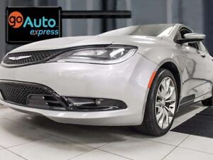 2016 Chrysler 200 200S AWD with push start/stop and beautiful he