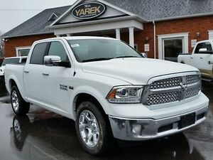 2017 Ram 1500 Laramie 4x4, Leather Heated/Vented Seats, NAV, Bac