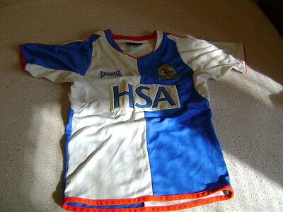Blackburn Rovers shirt jersey 5/6yrs vintage 2005/6 image