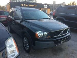 2005 Volvo XC90 2.5L, 7seats, DVD, sunroof,leather,AWD,cert.