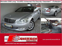 Mercedes-Benz S 500 LONG**GUARD**PANZER=ARMOURED=SECURITY=FULL