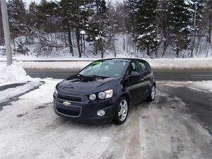 2014 CHEVROLET SONIC LT...LOADED!! SUNROOF, BLUETOOTH & CAMERA!!
