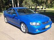 2004 Ford Falcon BA XR6 Blue 4 Speed Automatic Sedan Granville Parramatta Area Preview