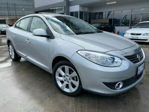 2011 Renault Fluence L38 Privilege Silver 6 Speed Constant Variable Sedan Fyshwick South Canberra Preview