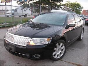 2008 Lincoln MKZ AWD 174 KM NAVGATION n LEATHER INSTANT APPROVAL