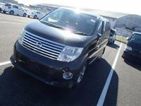 FACELIFT NISSAN ELGRAND E51 3.5 VG AUTOMATIC * 6 7 8 SEATER * G30 PEARL BLACK