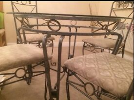 MAKE ME AN OFFER- table and chairs