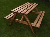 Six seater Picnic Bench, 5ft