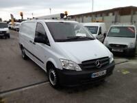 2013 63reg Mercedes Benz Vito 113 CDI LWB Panel Van