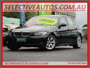 2006 BMW 325I E90 25i Black 6 Speed Steptronic Sedan Homebush Strathfield Area Preview