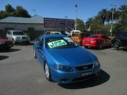 2008 Ford Falcon BF MkII SR Blue 4 Speed Auto Seq Sportshift Sedan Waratah Newcastle Area Preview