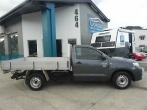 2010 Toyota Hilux TGN16R 09 Upgrade Workmate Grey 5 Speed Manual Cab Chassis Earlville Cairns City Preview