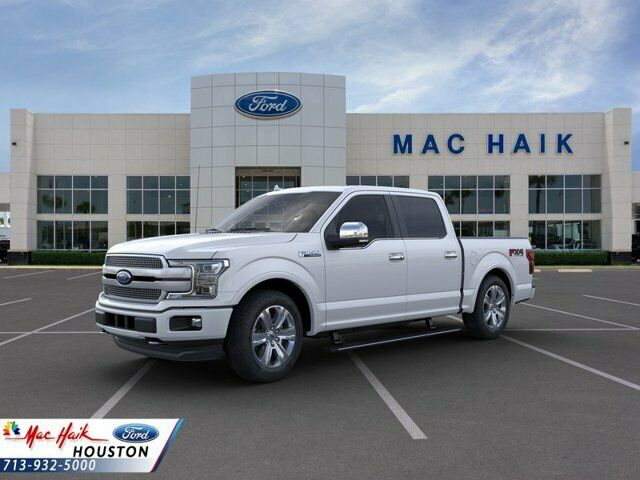 2019 Ford F-150 Platinum 6271 Miles White Platinum Tc Crew Cab Pickup Twin Turbo