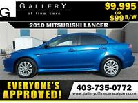 2010 Mitsubishi Lancer SE $99 BI-WEEKLY APPLY NOW DRIVE NOW