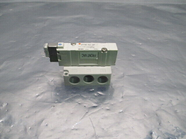 SMC SY7140-5LZ-03T Solenoid Valve Manifold, 0.15-0.7MPa, 453737