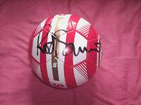 rod stewart personally signed football brand new