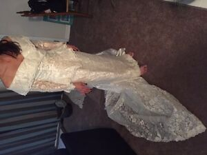 Wedding dress  marked down