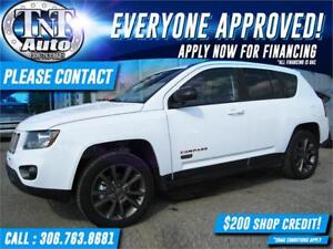 2016 Jeep Compass Sport 4X4 LEATHER-POWER SUNROOF-BACK UP CAM Sp