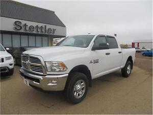 2013 RAM 2500 SLT 4x4 LOW KM'S! DIESEL! TOW PACKAGE!