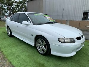 2001 Holden Commodore VX SS White 4 Speed Automatic Sedan Harrington Greater Taree Area Preview