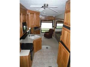 2007 Sabre 30RES Luxury 5th wheel trailer with power slideout Stratford Kitchener Area image 20