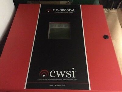 Cwsi Cp-3000da Wireless Commercial Fire Alarm System 2 Available Free Shipn