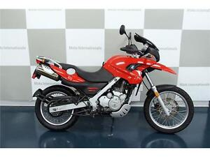 BMW F650GS ROUGE 2007