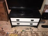 UPCYCLED CHEST OF DRAWERS VINTAGE BEDROOM FURNITURE OR TV STAND