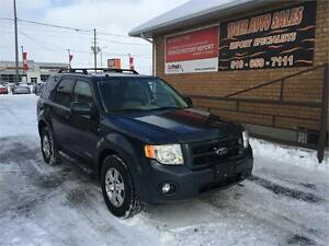 2008 Ford Escape XLT LIMITED***4X4**LEATHER**SUNROOF**157 KMS