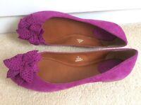 Womens made by JonesFuschia Pink Flats