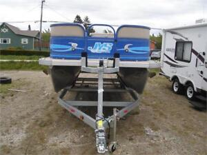 2018 Saphir L-208 Pontoon boat & 2018 Remeq Trailer