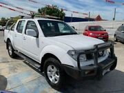 2011 Nissan Navara D40 ST White 6 Speed Manual Utility Maidstone Maribyrnong Area Preview