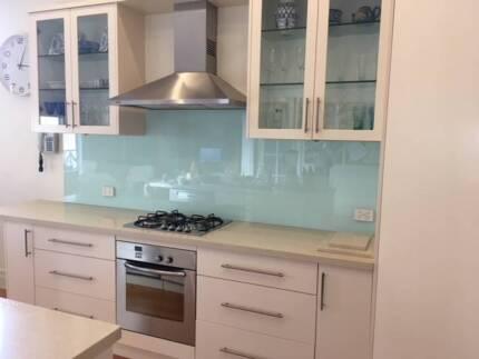 KITCHEN - L Shaped & Island Bench/Caesarstone & Bosch Appliances