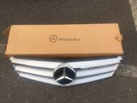 Mercedes AMG Sports Grill - Ref: A204 880 0023 - 2007 to 2014 C Class Mercedes