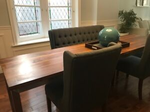 Cherry Wood Dining Table - original from Style Garage