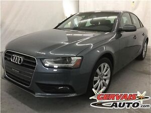 Audi A4 2.0T Quattro Cuir Toit Ouvrant MAGS 2013