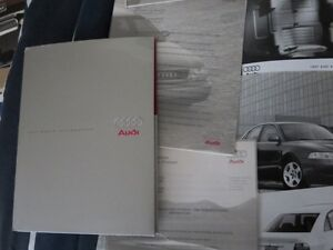 Rare 1997 Audi Car full line Press Kit Brochure Photos A8 S6 A4 Cambridge Kitchener Area image 7