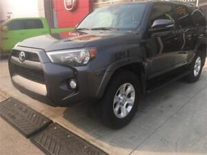 2016 TOYOTA 4 RUNNER SR5  LOADED